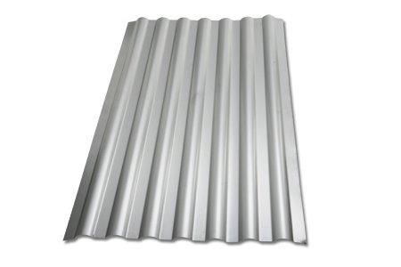 Chapas de zinco onduladas usadas